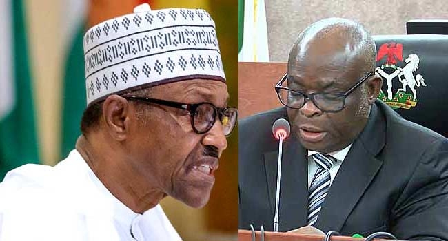 Image result for NIM Gives Buhari 7 Days To Reverse Onnoghen's Suspension