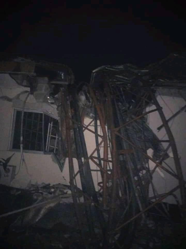 Heavy storm destroys Bayelsa Radio House in Yenagoa, Heavy storm destroys Bayelsa Radio House in Yenagoa (Photos), Latest Nigeria News, Daily Devotionals & Celebrity Gossips - Chidispalace