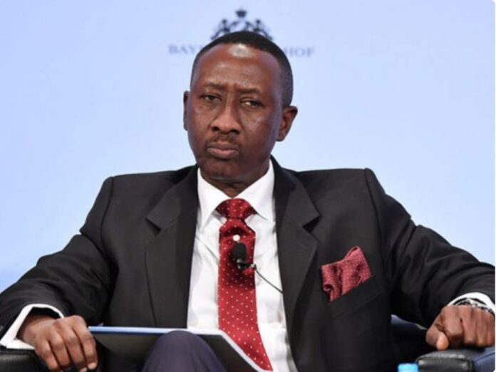 National Security Adviser to President Muhammadu Buhari, Major General Babagana Mohammed Monguno (rtd.)
